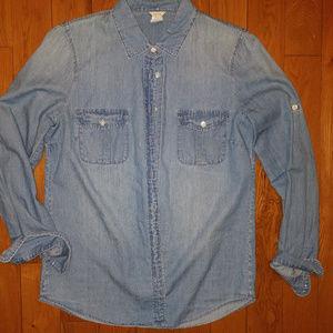 Jcrew Denim Shirt: Size 6